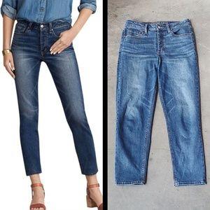 American Eagle Vintage Hi-Rise Cropped Jeans 8